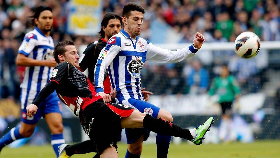 El Deportivo 0 - Rayo Vallecano 0, en fotos