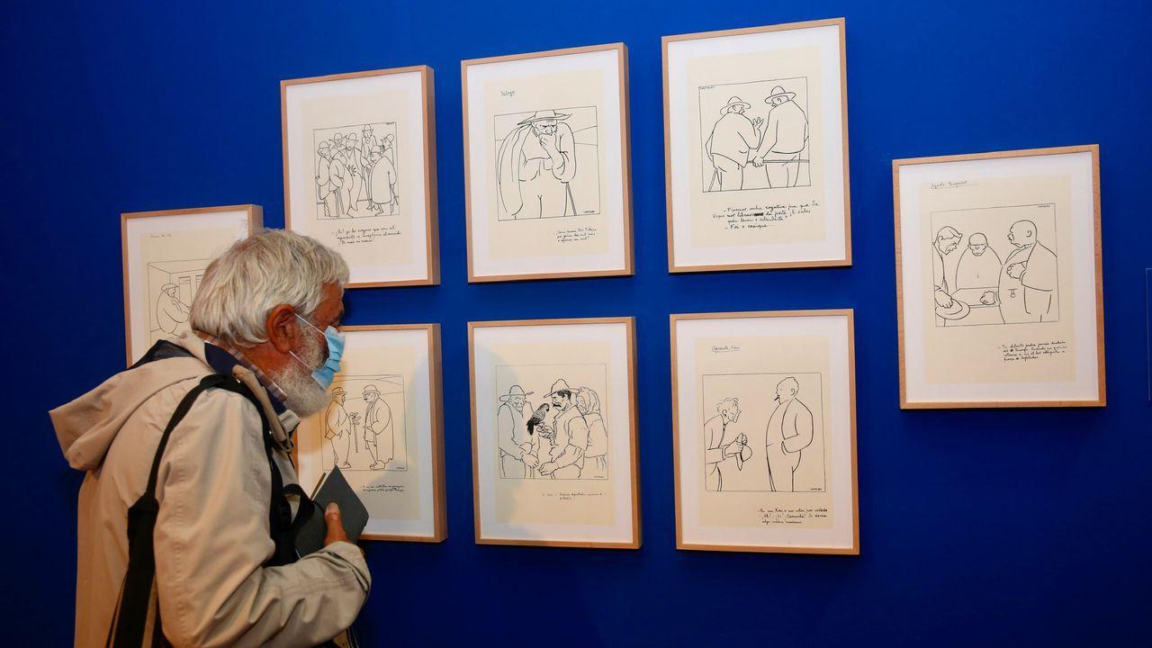 A mostra sobre a obra gráfica de Castelao estará aberta en Pontevedra ata o 23 de xaneiro