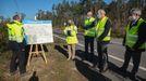Presentación del proyecto a los alcaldes, en el mes de marzo