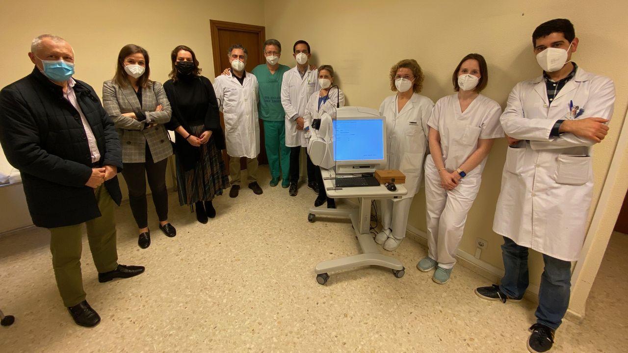 Uno de los nuevos equipos para el diagnóstico precoz de la degeneración macular