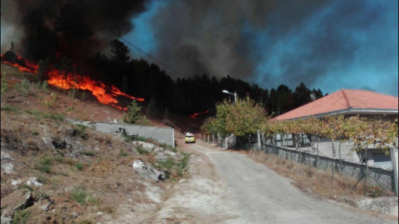 Conducen a prisión al brigadista detenido por incendios en A Baixa Limia