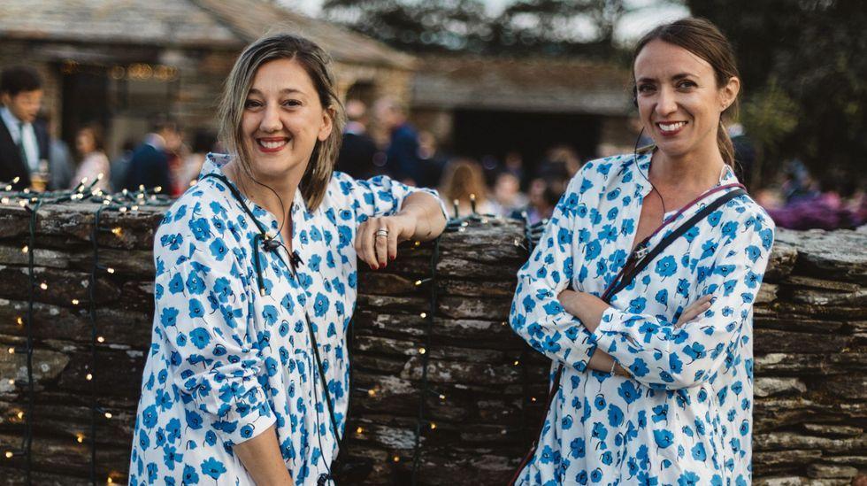 Marta Rivadulla y Celia Torres son socias en El Sofá Amarillo