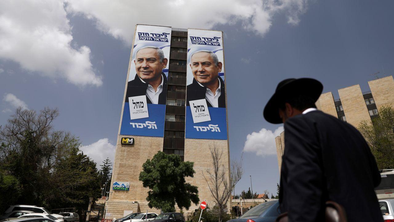 Las encuestas no dan una clara victoria a Netanyahu en las elecciones generales del martes
