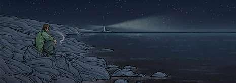 Una de las imágenes de la segunda parte de «La cuenta atrás», con guion de Carlos Portela y dibujo de Sergi San Julián.