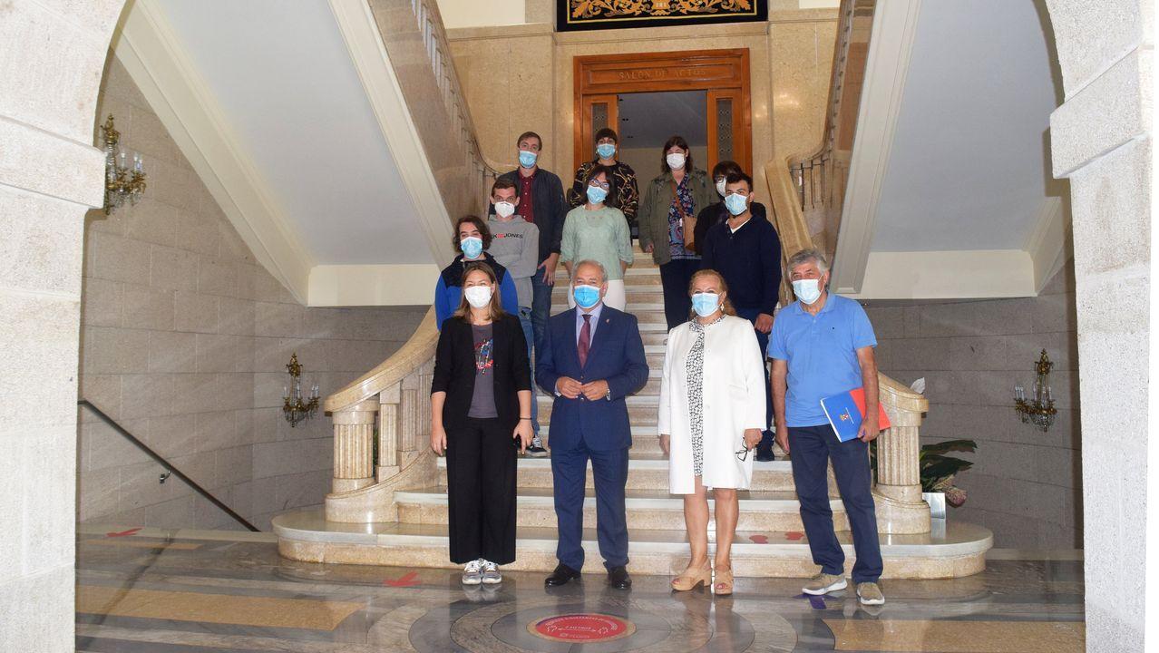 Pontevedra y Depor se ven las caras en Pasarón.Toma de posesión de ocho funcionarios de la Diputación de Lugo