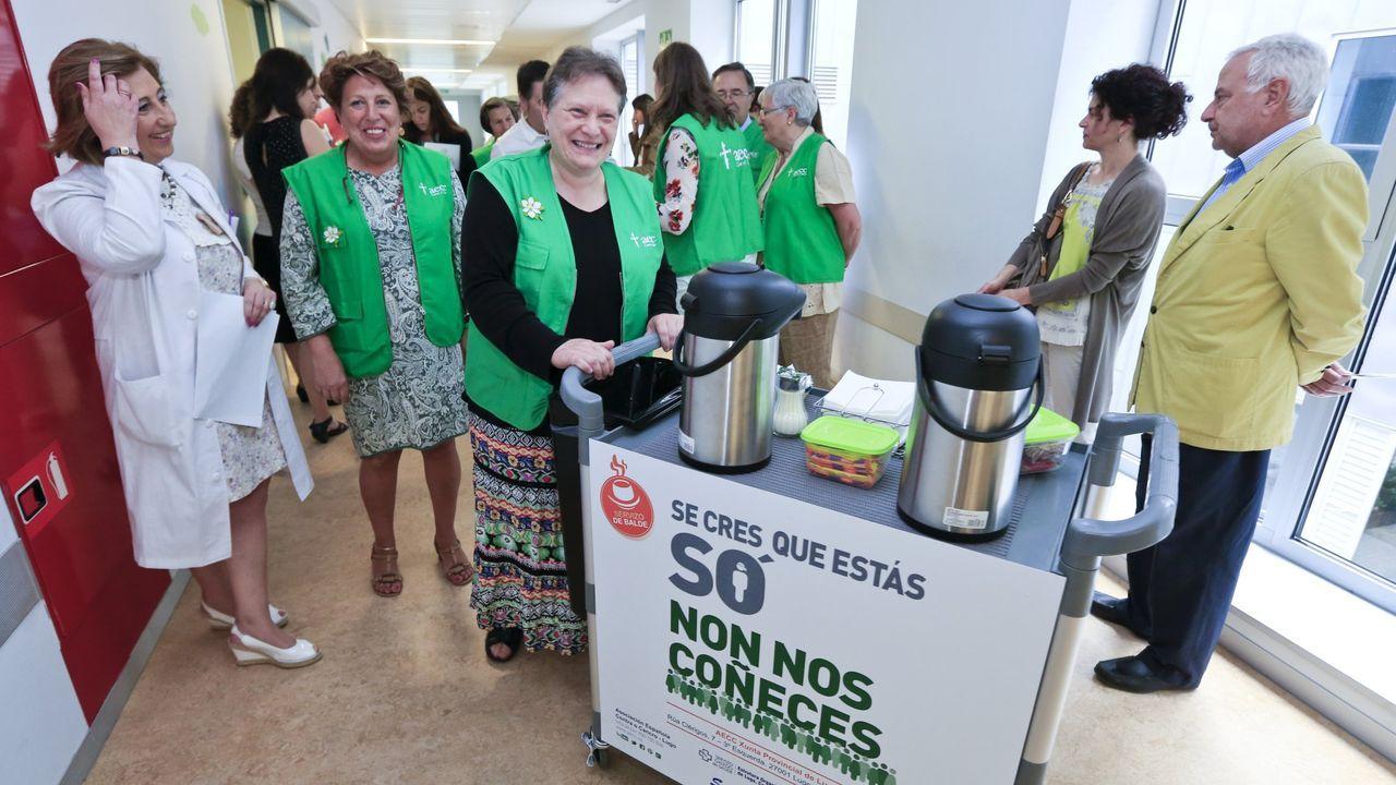 El «Carrito Don Amable» en el Hula de Lugo, donde ya empezó funcionar en el 2015
