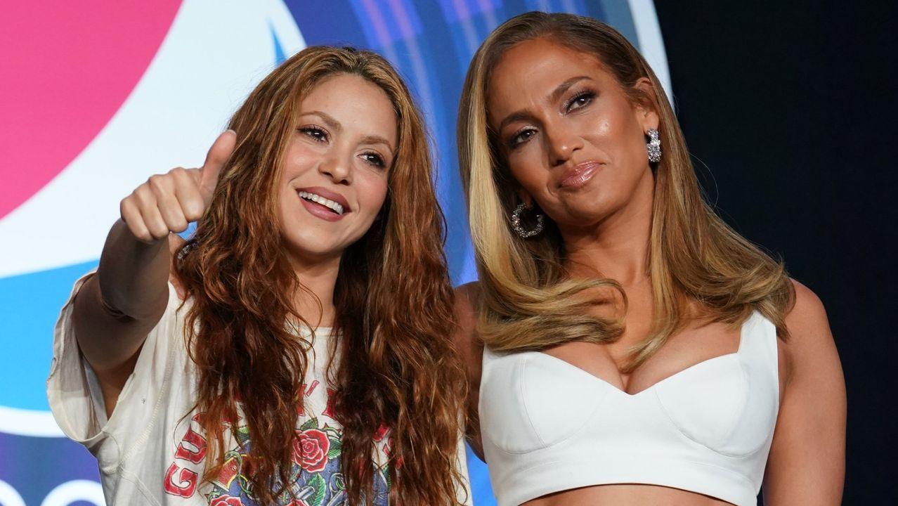La actuación de Shakira y JLo en la Super Bowl, en fotos.David Villa, en la Super Bowl