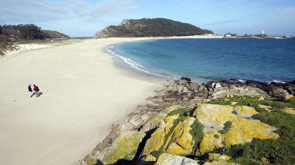 Playa de Rodas (Islas Cíes)