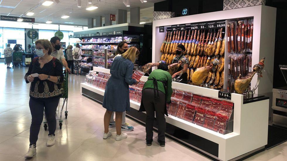 Nuevo Mercadona, en Nantes (Sanxenxo)
