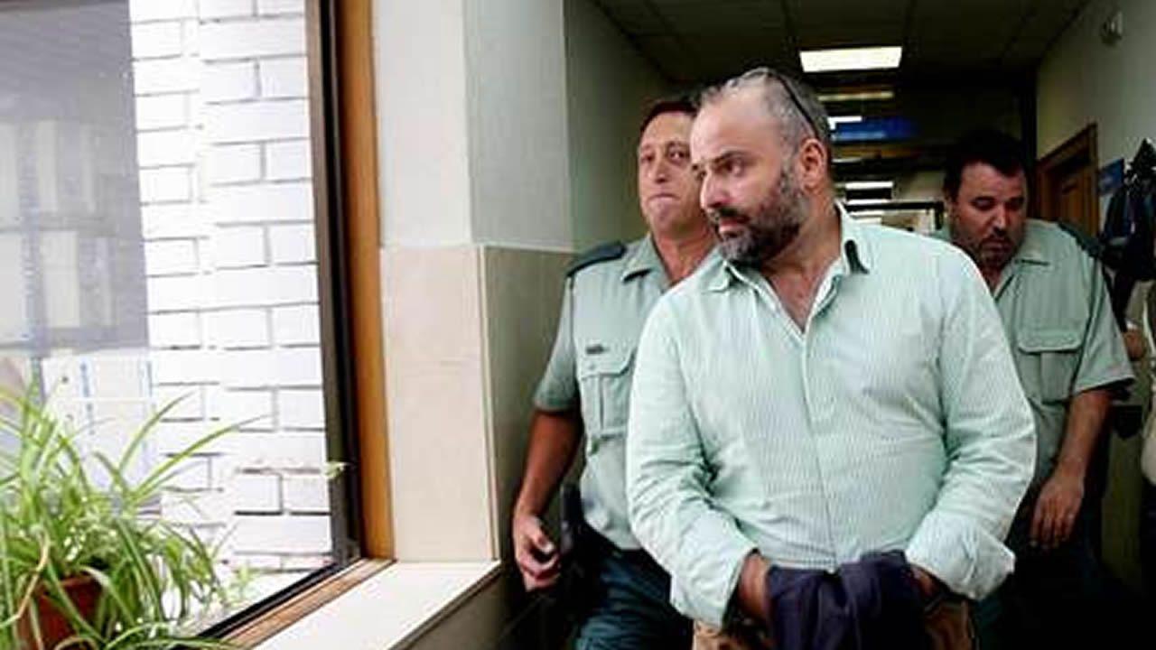 José Manuel López (Coté), el día de su segunda detención