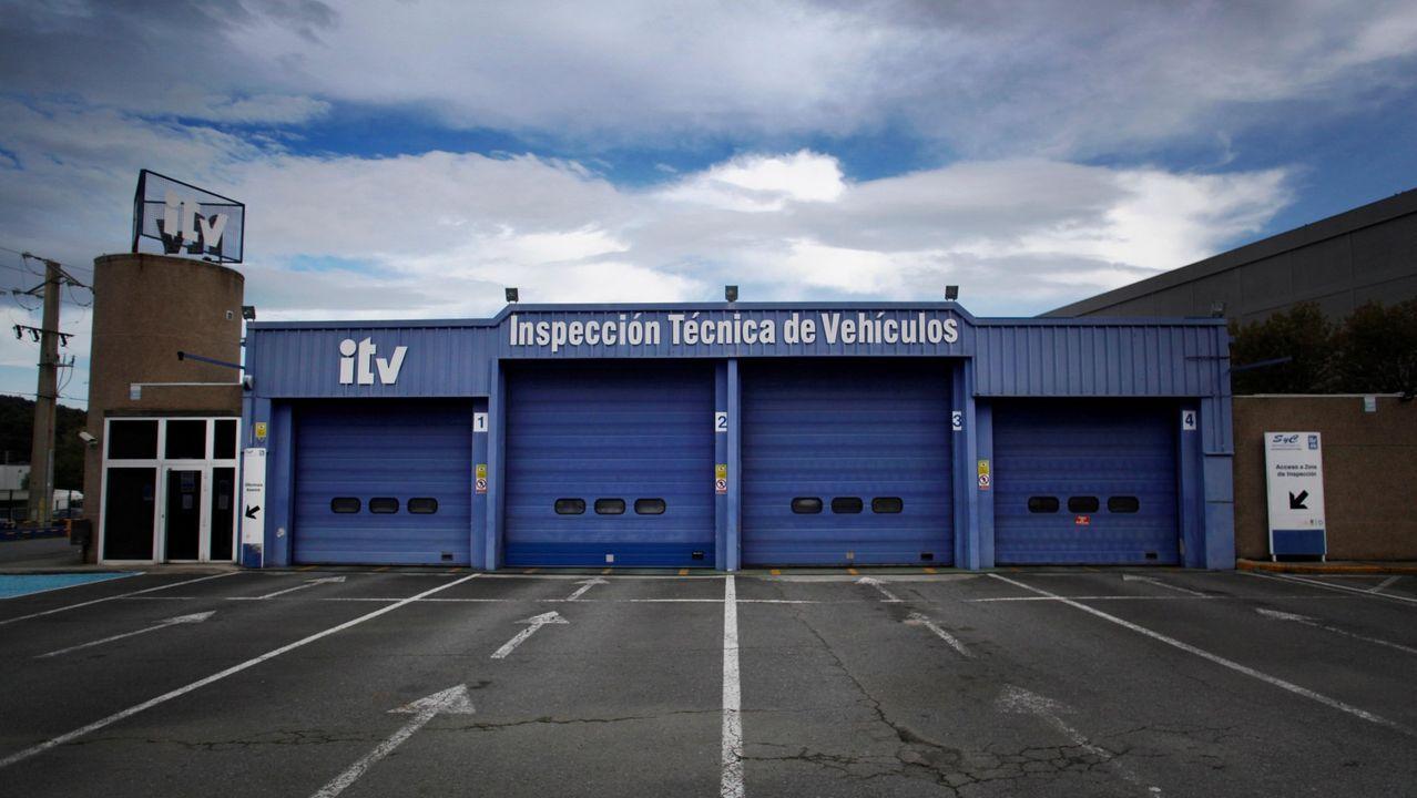 Las estaciones de ITV gallegas permanecerán cerradas este lunes