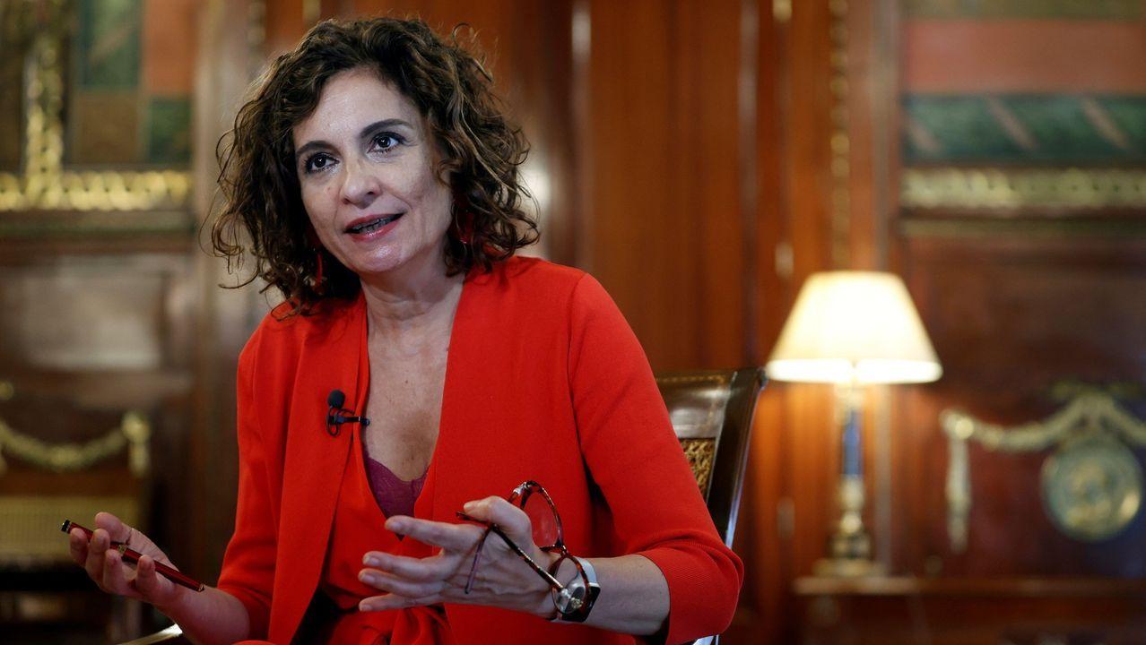 En directo |El Tribunal Supremo revisa la inhabilitación de Quim Torra.La ministra de Hacienda, María Jesús Montero