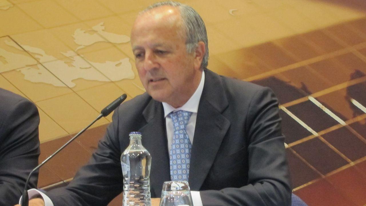 Ángel Antonio del Valle, presidente de Duro Felguera.Juan Carlos Torres Inclán