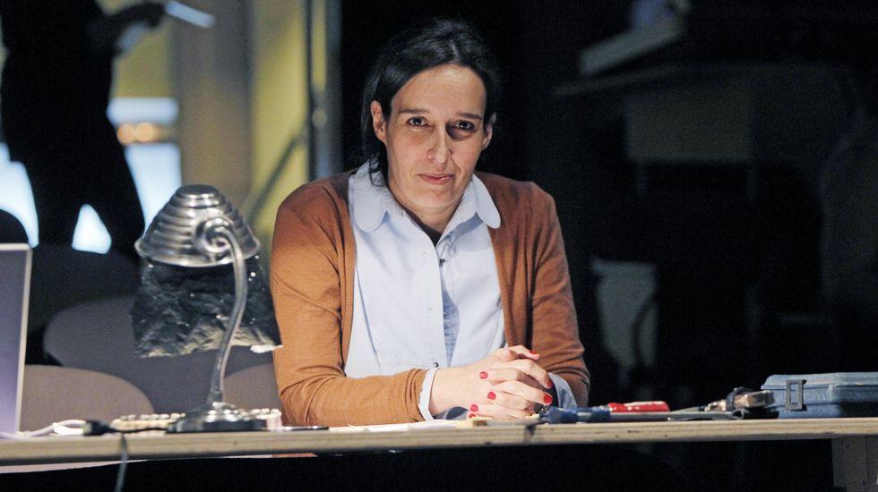 Entrega de los premios María Casares.El espectáculo de Escola da Noite de Coímbra está dirigido por Cándido Pazó.