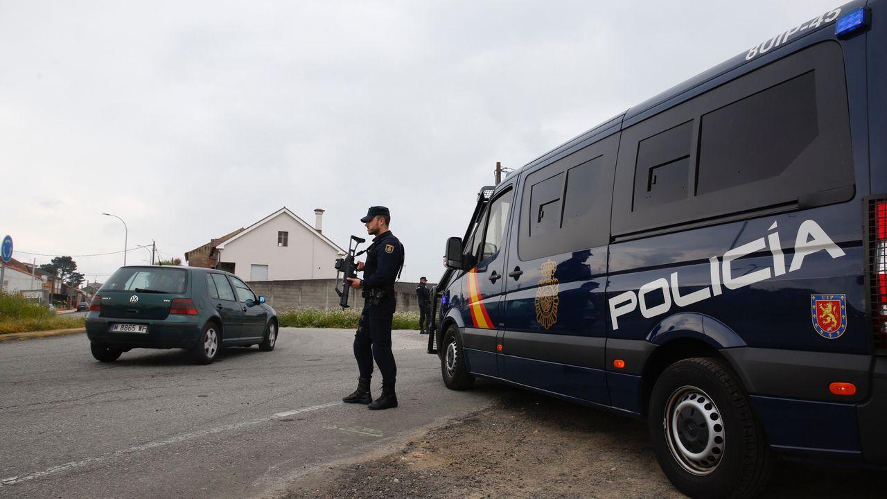 Intervenidas3,8 toneladas de cocaína y detenidas 28 personas en un golpe al narcotráfico en Galicia.José Ángel Vázquez, director de la cárcel de Teixeiro