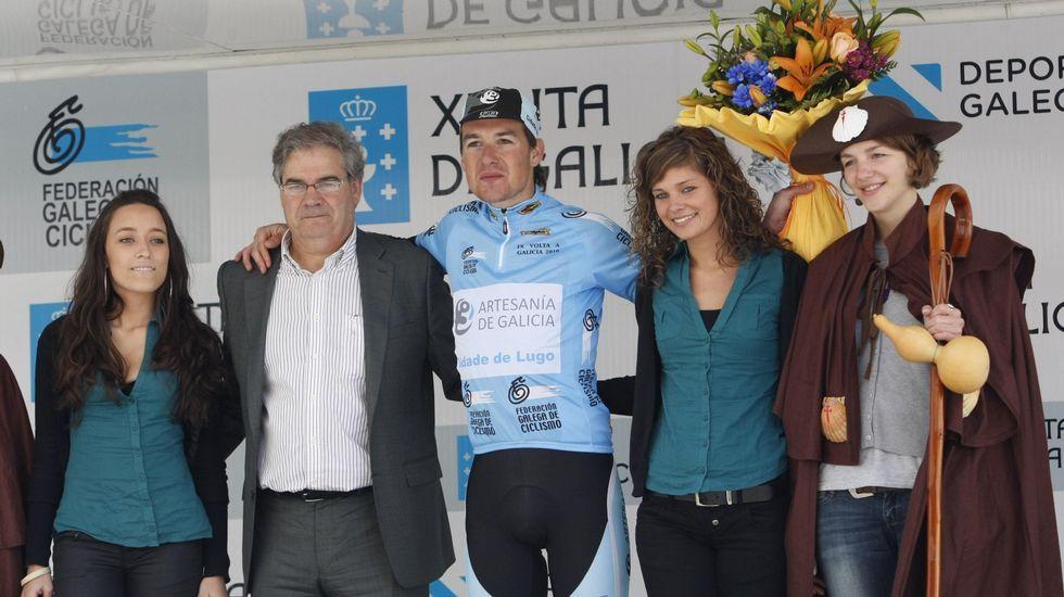 Ganador de una etapa de la Volta a Galicia y mejor gallego clasificado en la edición del 2010, corriendo para el Muralla de Lugo
