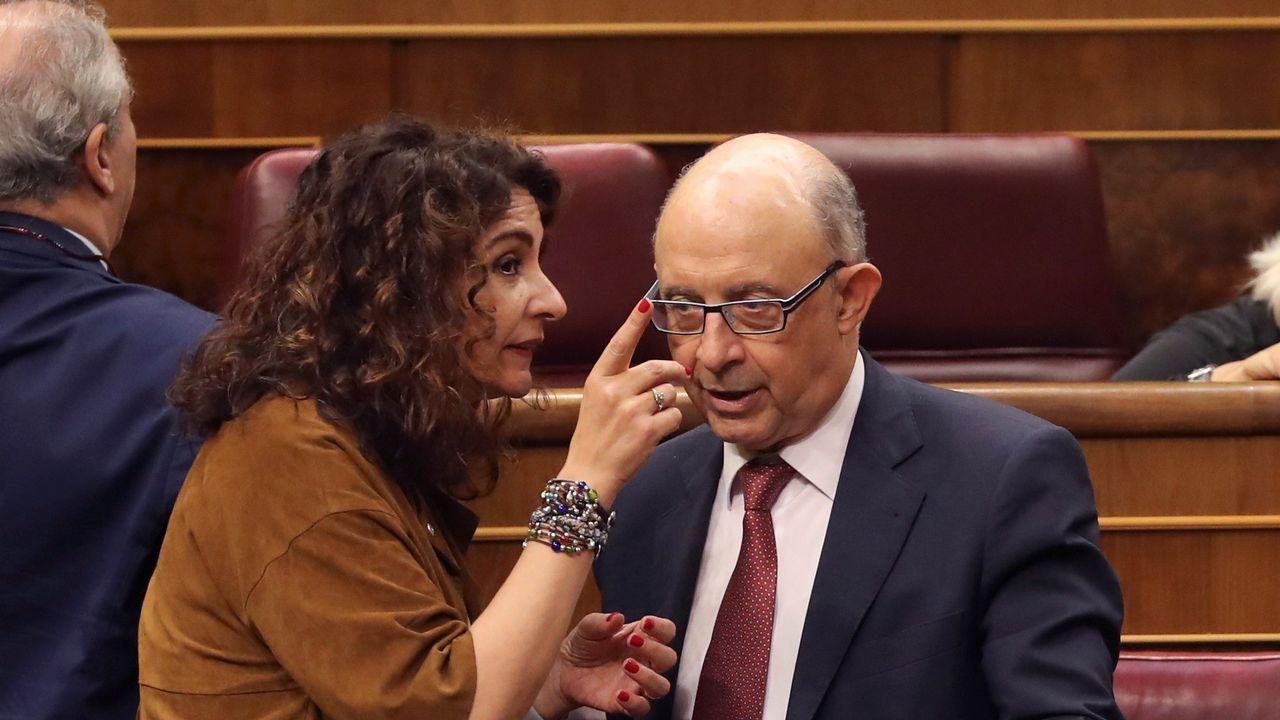 «Cuéntame cómo vais a renovarnos», el vídeo anónimo contra Santamaría.Gonzalo Caballero