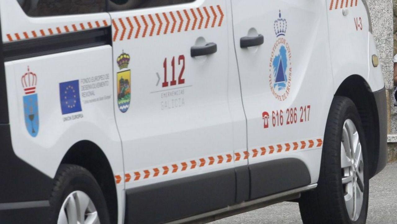 Salva Allo relata o altercado vivido o sábado coa Policía Local da Illa.Personas ya vacunadas contra el covid recogen su certificado en el recinto ferial de Pontevedra