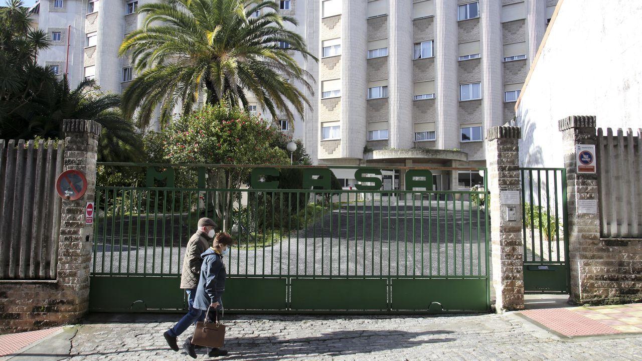 En la residencia Mi Casa de Ferrol hay en la actualidad 23 internos y dos empleados afectados de covid