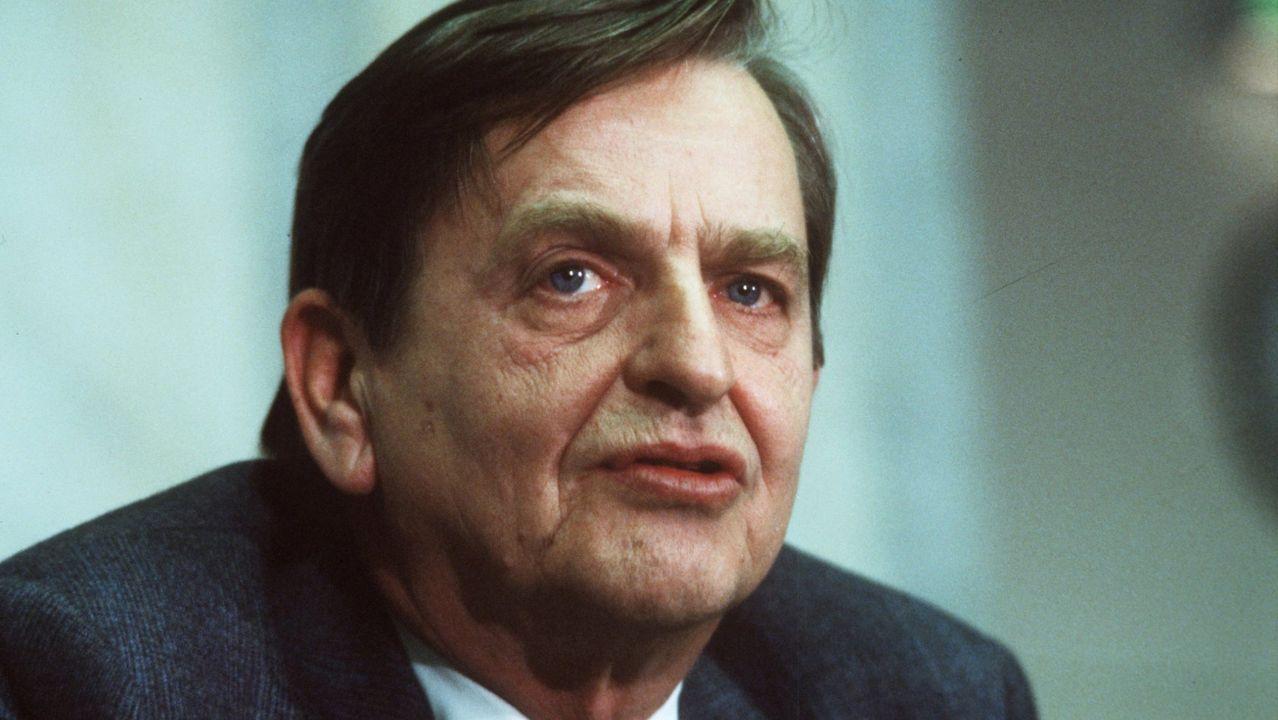 Palme, en diciembre de 1983