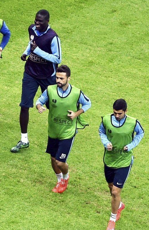 Bruno Gama entrena con el Dnipro