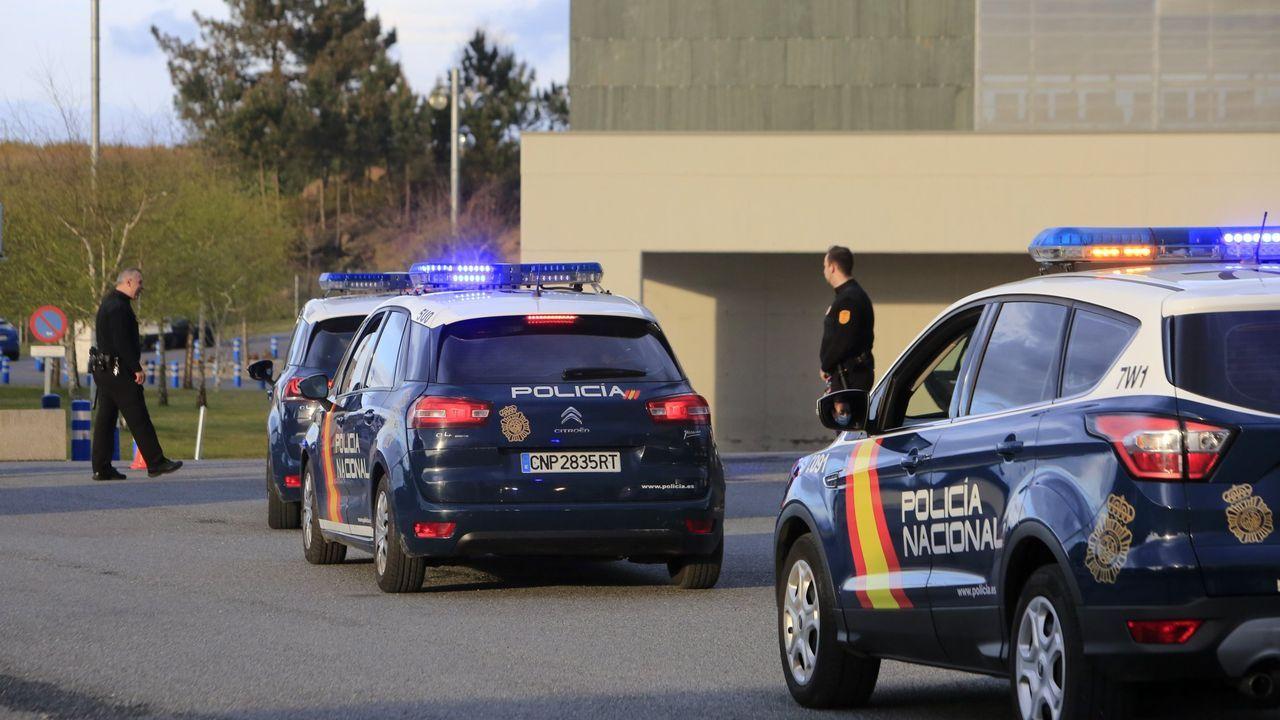 Foto de archivo de una patrulla de la Policía Nacional de Lugo