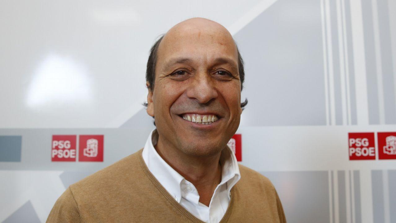 Eduardo Reguera, portavoz socialista en Redondela y aspirante ungido por Gonzalo Caballero