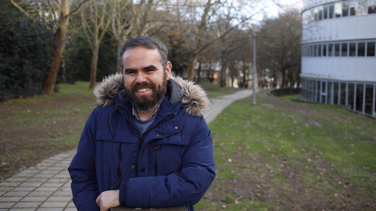 Andrés García, investigador da Escola Politécnica de Lugo