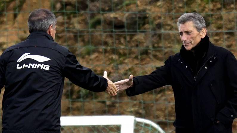 Herrera recibió el respaldo público de Mouriño a principios de febrero