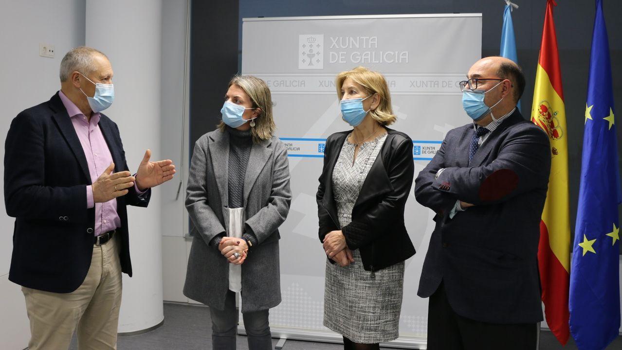 El cribado preventivo a estudiantes de bachillerato del área sanitaria de Pontevedra y O Salnés se presentó este martes en Pontevedra