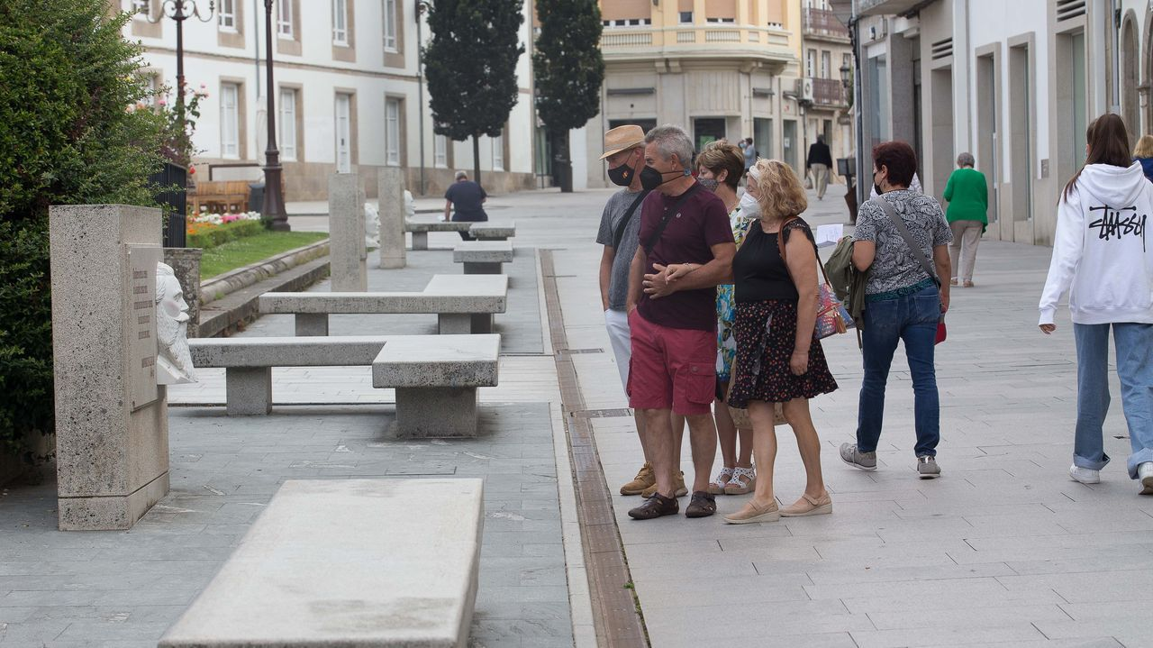 Ambiente en la ciudad de Lugo, que sumó 520 casos en las últimas dos semanas
