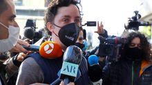Francisco Nicolás Gómez, llegando este martes a la Audiencia Provincial de Madrid
