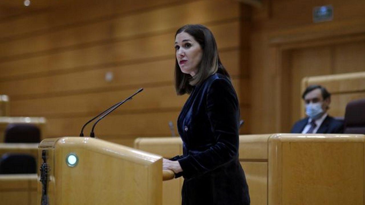 La senadora de Ciudadanos por Navarra, Ruth Goñi, abandona el partido de Arrimadas