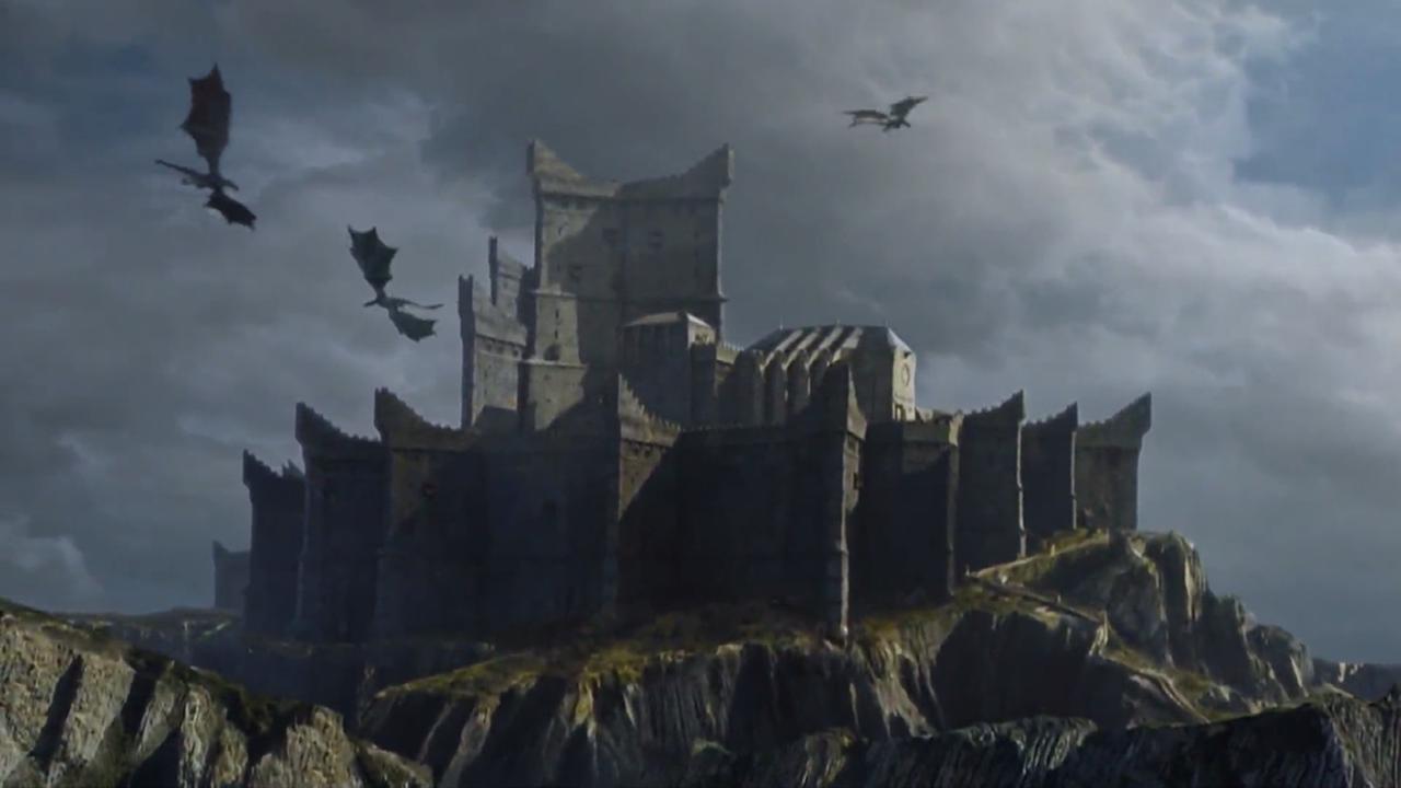 Batalla entre los Dothraki y los Lannister.Castillo de Rocadragón