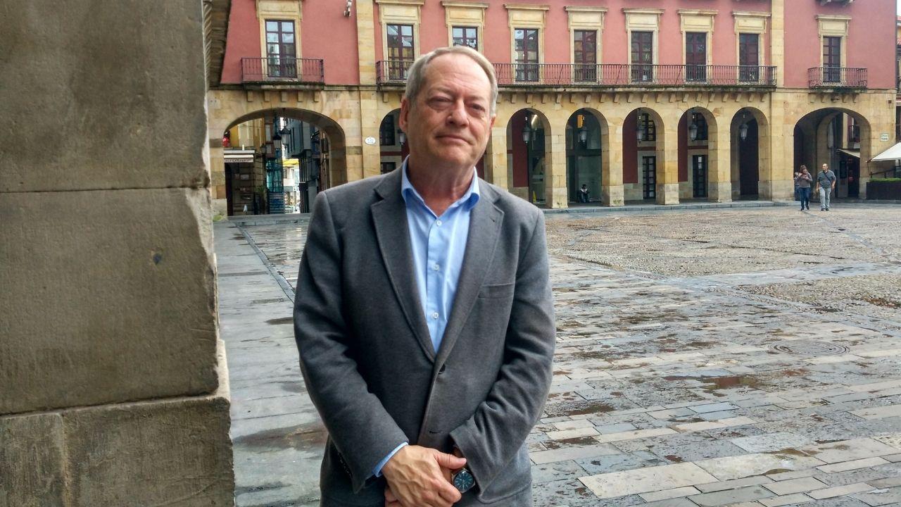 Obras en la variante de Pajares.Aurelio Martín, concejal de Movilidad y Medio Ambiente de Gijón