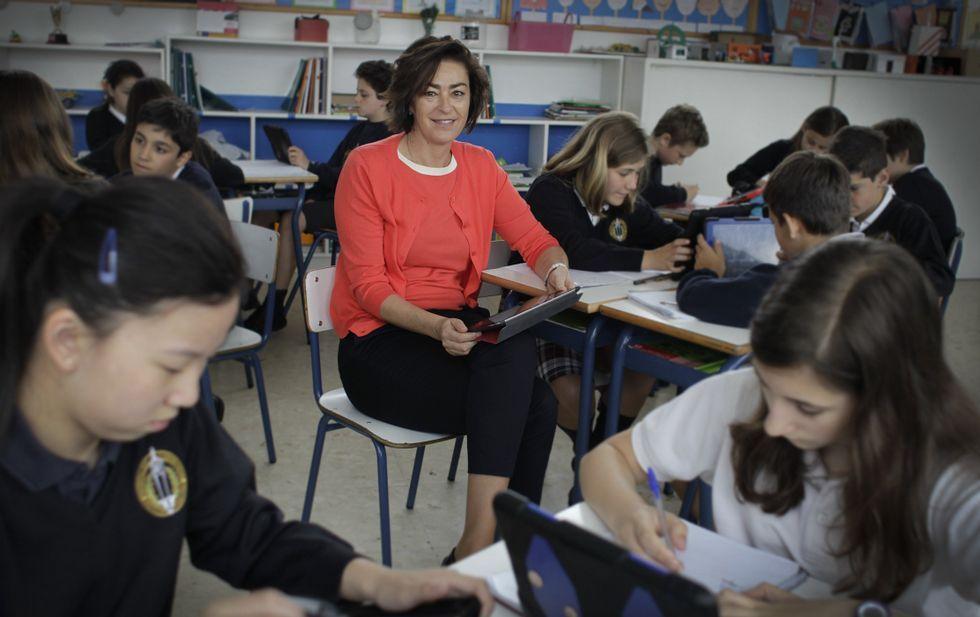Apple presenta sus novedades en San Francisco.Nelly Varela lleva seis meses al frente de la dirección general del colegio Eirís.