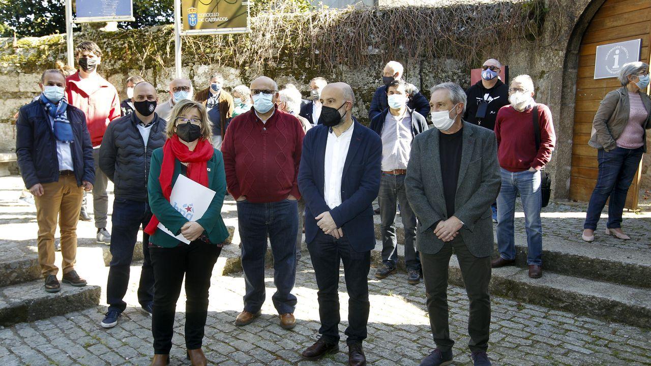 La movilización en Burela