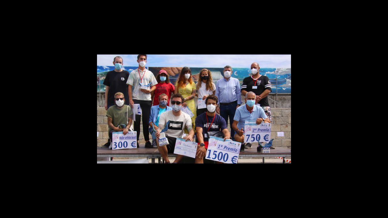 Ganadores de la edición de 2020 en el puerto burelense
