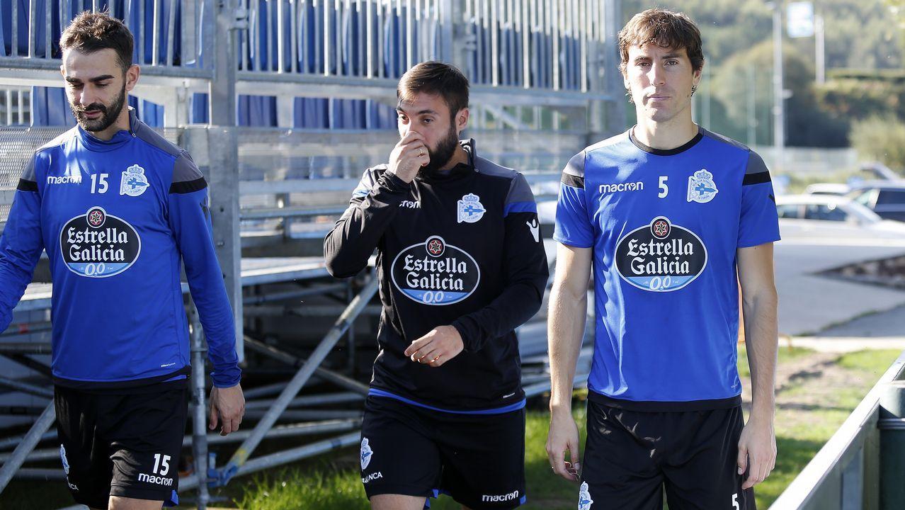 Adrián, Mosquera y Carles Gil avanzan en su recuperación