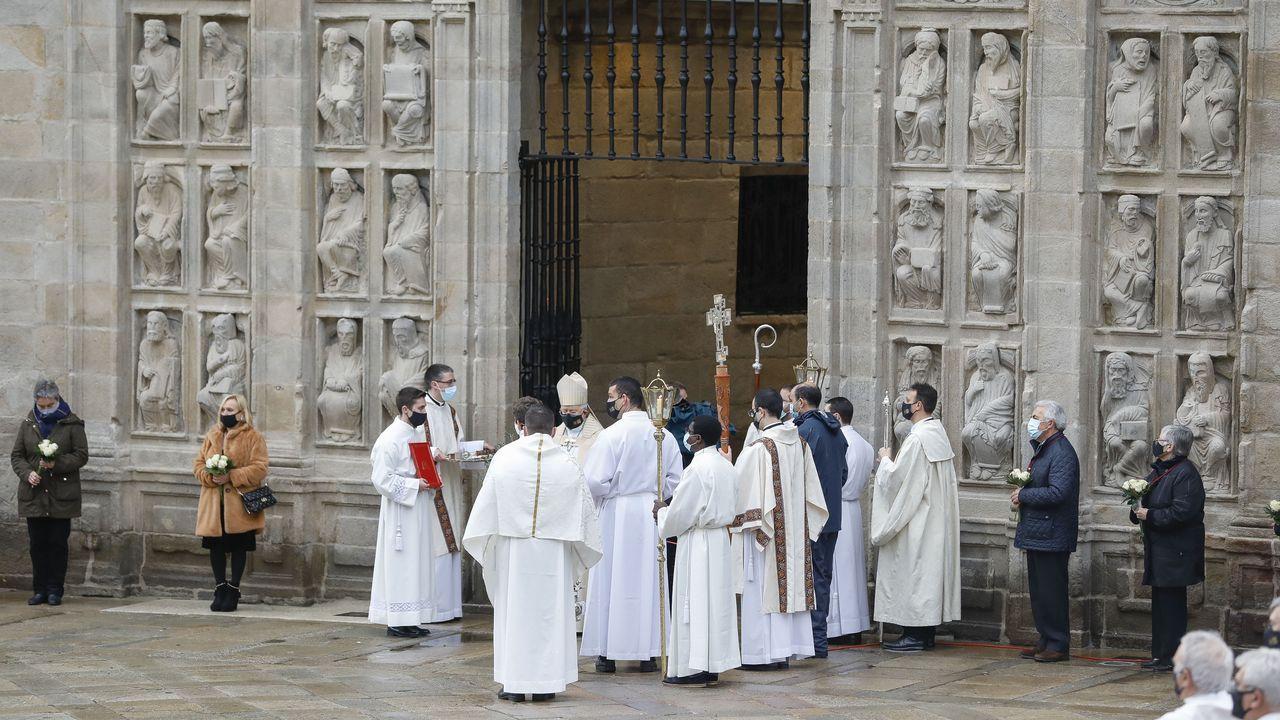 Actos de apertura de la Puerta Santa en la Catedral de Santiago