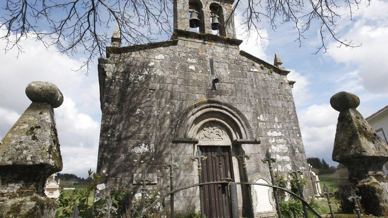 Iglesia de Santa María de Taboada dos Freires, en el municipio de Taboada