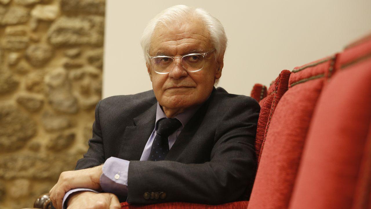Víctor Freixanes insistiu no compromiso «insubornable» da academia co idioma galego