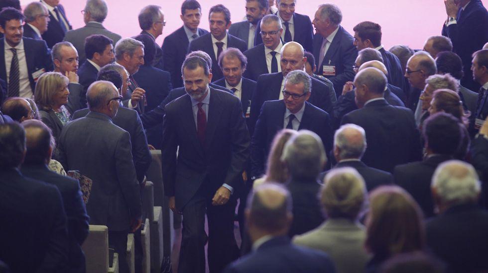 El Rey Felipe VI en el XIX congreso nacional de la empresa familiar. Crecimiento con raíces