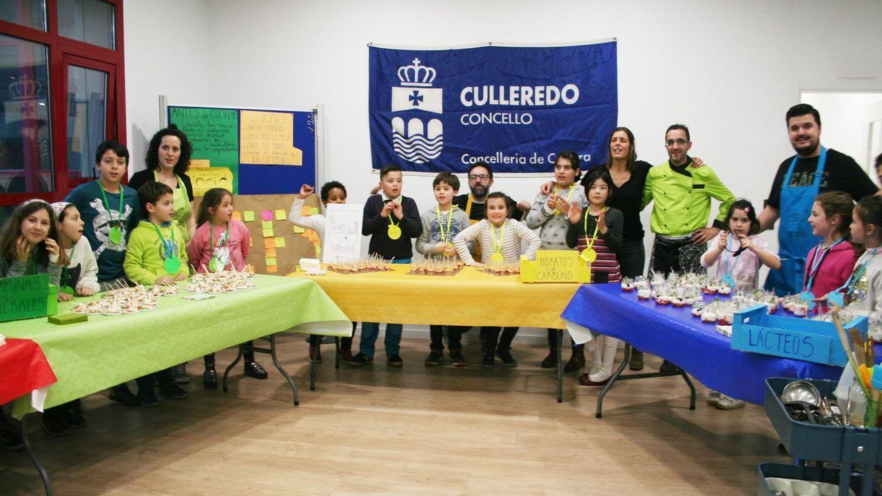 Alvedro ya realiza cribados a sus pasajeros.Imagen de la celebración del Cullerchef en el 2019