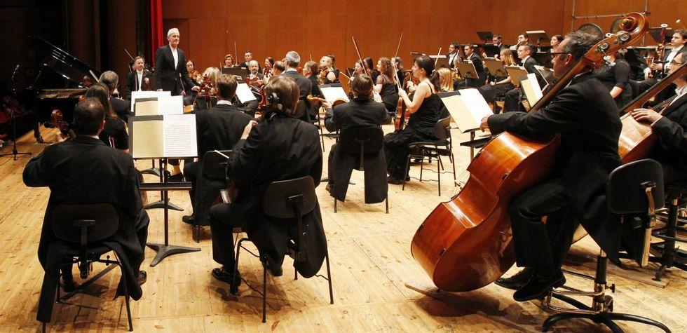 La Real Filharmonía de Galicia interpretará esta tarde en el Teatro Afundación obras de Ravel, Beethoven y Fauré