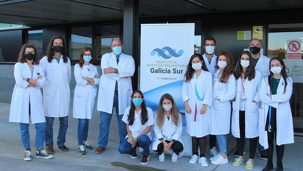 Equipo del Instituto de Investigación Sanitaria Galicia-Sur que ha promovido el ensayo clínico