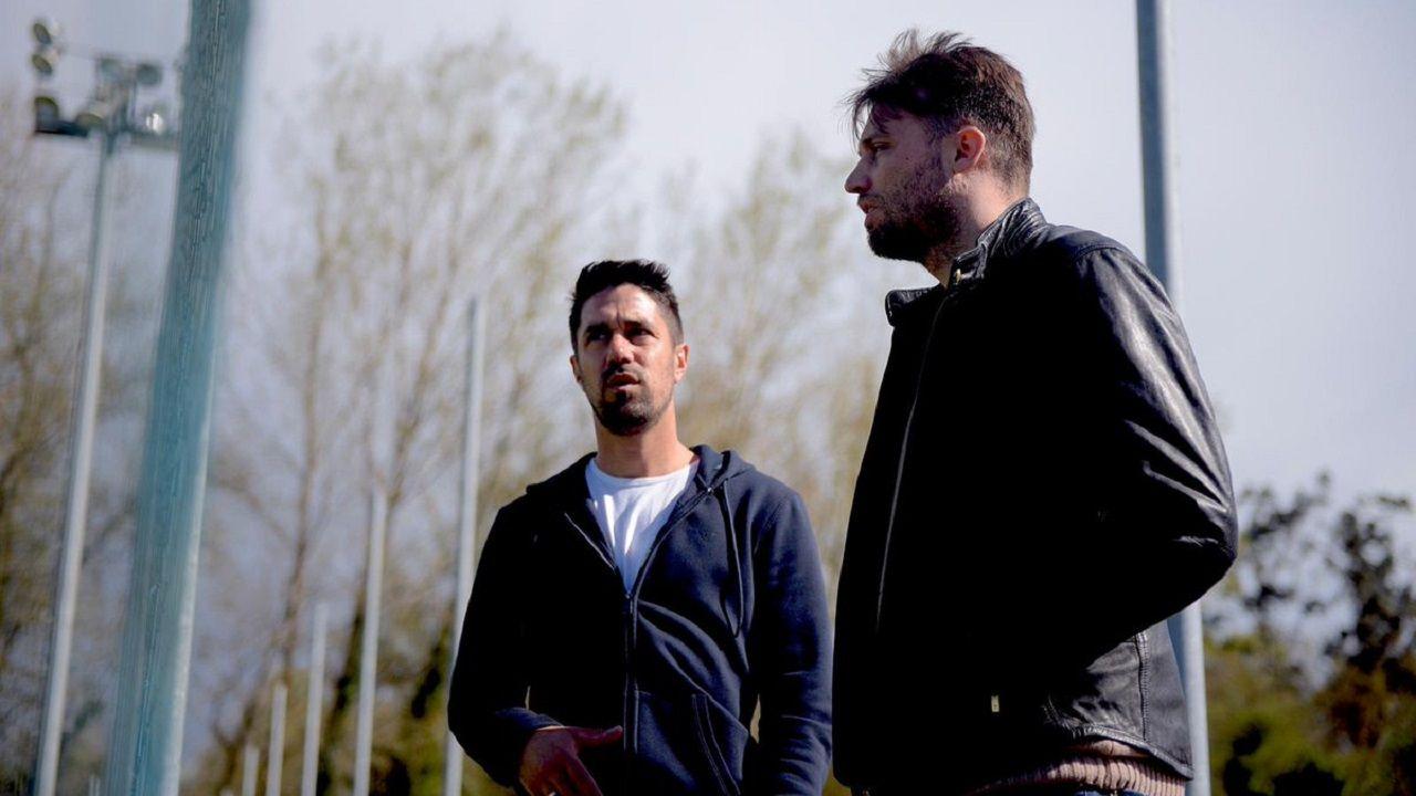 Dani Bautista y Michu en El Requexón