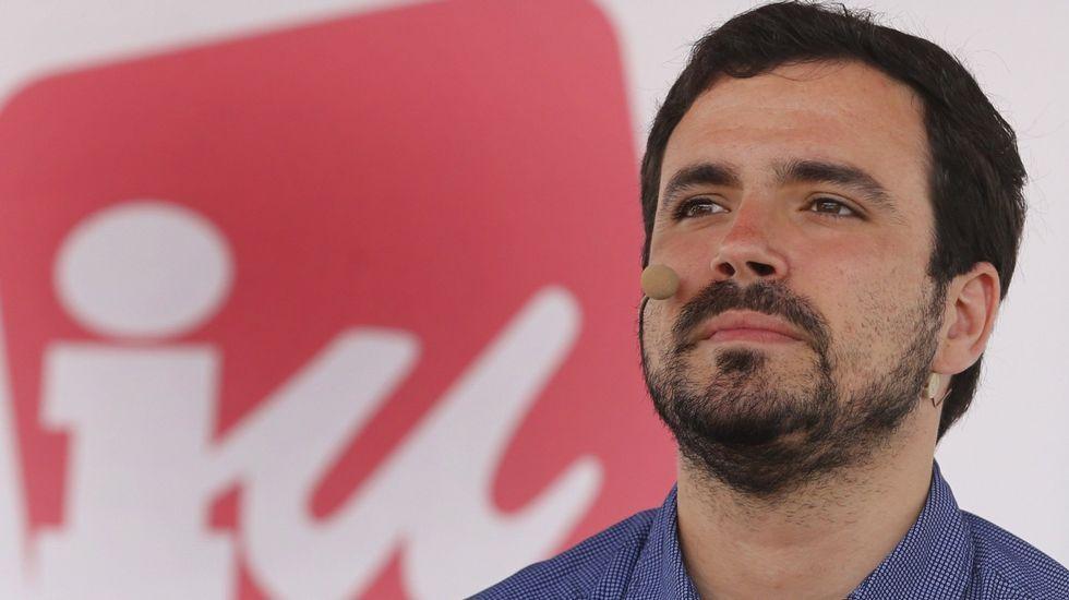 El «proponido» del ministro Alberto Garzón.Alberto Garzón, líder de Izquierda Unida