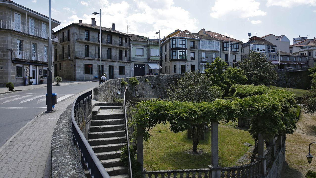 hotel.Un momento de las marchas del 25N en Gijón