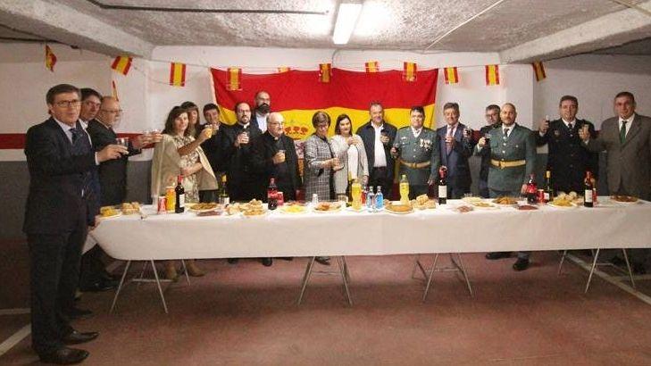 Celebración del día del Pilar en Xinzo